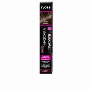 Root Touch Up HAIR MASCARA cobertura temporal #castaño Syoss