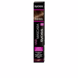 Root Touch Up HAIR MASCARA cobertura temporal #castaño choco Syoss
