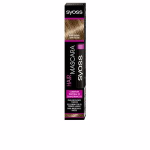 Root Touch Up HAIR MASCARA cobertura temporal #rubio oscuro Syoss