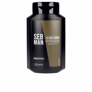 Champú hidratante SEB MAN THE MULTITASKER 3 in 1 hair wash Seb Man