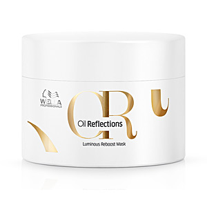 Haarmaske für Glanz - Haarmaske für strapaziertes Haar OR OIL REFLECTIONS luminous reboost mask Wella