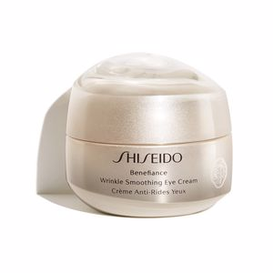 Tratamento papos e olheiras BENEFIANCE WRINKLE SMOOTHING eye cream Shiseido