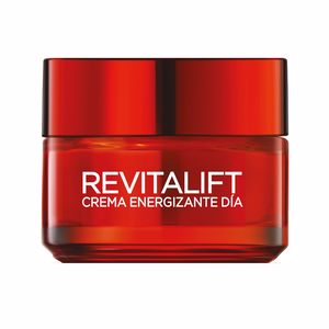 Antifatigue facial treatment REVITALIFT crema roja energizante día con ginseng rojo L'Oréal París