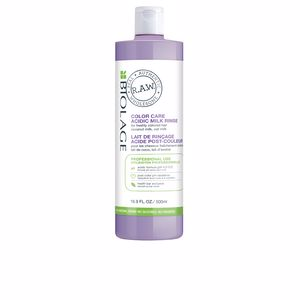 Hair color treatment R.A.W. COLOR CARE acidic milk rinse 5 Biolage