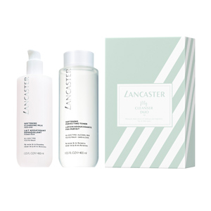 Skincare set DUO CLEANSING SOFTENING SET Lancaster