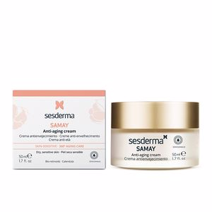 Anti aging cream & anti wrinkle treatment SAMAY crema antienvejecimiento piel sensible Sesderma
