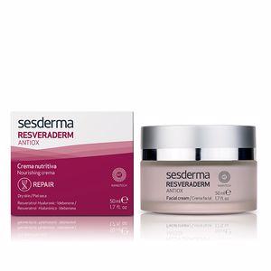 Face moisturizer RESVERADERM crema nutritiva Sesderma