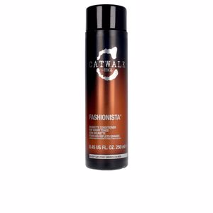 Conditioner for colored hair CATWALK fashionista brunette conditioner Tigi
