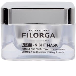 Cremas Antiarrugas y Antiedad - Tratamiento Facial Reafirmante - Mascarilla Facial NCTF-NIGHT mask Laboratoires Filorga