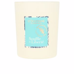 L'Occitane SOUFFLE DE LIBERTÉ bougie vivifiante perfume