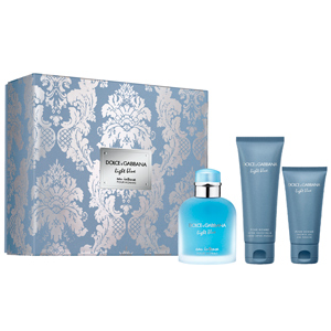 Dolce & Gabbana LIGHT BLUE EAU INTENSE POUR HOMME SET perfume