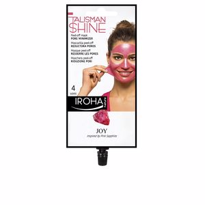 Mascara facial PEEL OFF MASK pink sapphire pore minimizer Iroha