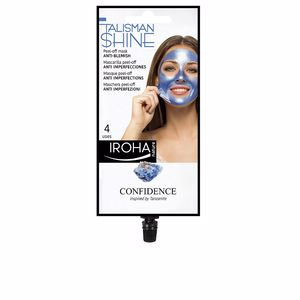 Mascara facial PEEL OFF MASK blue tanzanite anti-blemish Iroha