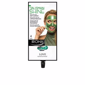 Mascara facial PEEL OFF MASK green emerald deep cleanser Iroha