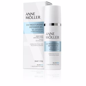 Anti aging cream & anti wrinkle treatment BLOCKÂGE 24h moisturizing defense gel Anne Möller