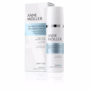 Anti aging cream & anti wrinkle treatment BLOCKÂGE 24h moisturizing defense cream Anne Möller