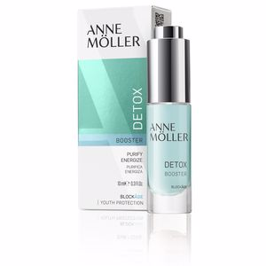 Antifatigue facial treatment BLOCKÂGE detox booster Anne Möller