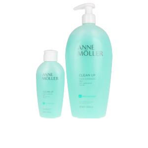 Set cosmética facial CLEAN UP GEL LOTE Anne Möller