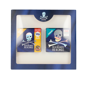 Conjunto de cabeleireiro SLICK AND SHINE HAIR KIT LOTE The Bluebeards Revenge