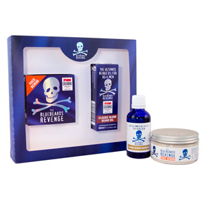 Set da barba DESIGNER STUBBLE KIT COFANETTO The Bluebeards Revenge