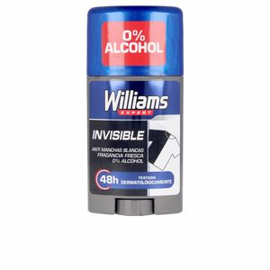 Desodorante INVISIBLE 48H deodorant stick Williams