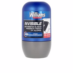 Desodorante INVISIBLE 48H deodorant roll-on Williams