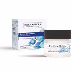 Face scrub - exfoliator - Facial cleanser LIMPIEZA FACIAL discos exfoliantes anti-manchas Bella Aurora