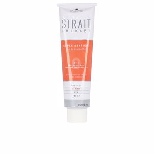 Hair straightening treatment STRAIT THERAPY straightening cream 0 Schwarzkopf