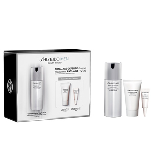 Set di cosmetici per il viso MEN TOTAL REVITALIZER LIGHT FLUID COFANETTO Shiseido