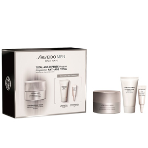 Set di cosmetici per il viso MEN TOTAL REVITALIZER COFANETTO Shiseido