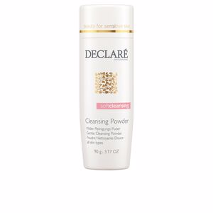 Facial cleanser - Make-up remover SOFT CLEANSING cleansing powder Declaré