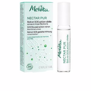 Tratamiento Matificante NECTAR PURO Roll-on Purificante – SOS Imperfecciones Melvita