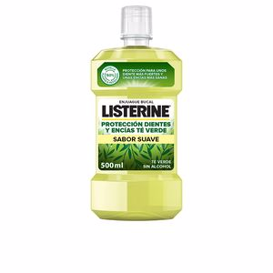Mouthwash TÉ VERDE PROTECCION ANTI-CARIES enjuague bucal  Listerine