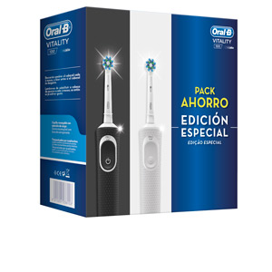 Set baño e higiene VITALITY CROSS ACTION LOTE 2 CEPILLOS ELECTRICOS