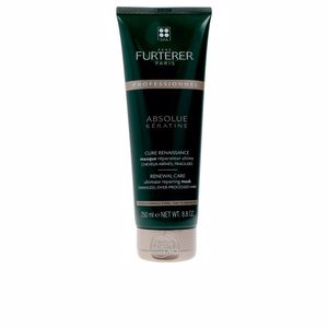 Mascarilla con keratina - Mascarilla reparadora ABSOLUE KERATINE renewal care mask fine hair Rene Furterer