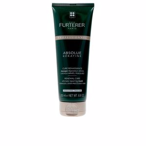 Mascarilla con keratina - Mascarilla reparadora ABSOLUE KERATINE renewal care mask thick hair Rene Furterer
