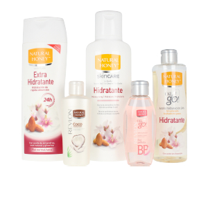 Set cosmética corporal NECESER HIDRATANTE NATURAL HONEY LOTE Natural Honey