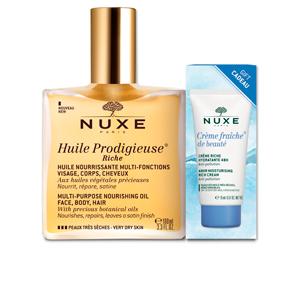 Kits e conjuntos cosmeticos HUILE PRODIGIEUSE HUILE RICHE LOTE