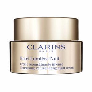 Anti aging cream & anti wrinkle treatment NUTRI LUMIÈRE crème nuit Clarins