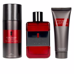 Antonio Banderas THE SECRET TEMPTATION LOTE perfume