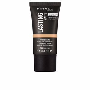 Base maquiagem LASTING MATTE foundation Rimmel London