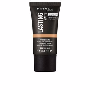 Base de maquillaje LASTING MATTE foundation Rimmel London