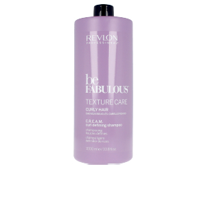Shampoo for curly hair - Moisturizing shampoo BE FABULOUS C.R.E.A.M. curl defining shampoo Revlon