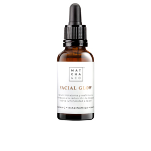 Face moisturizer FACIAL GLOW serum Matcha & Co