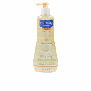Hygiene für Kinder - Duschgel BÉBÉ huile lavante peau séche Mustela