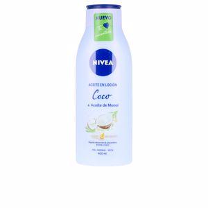 Body moisturiser ACEITE EN LOCION coco & aceite de monoi Nivea