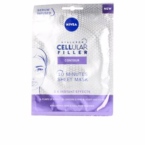 Face mask HYALURON CELLULAR FILLER contour mascarilla facial Nivea