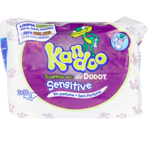 Hygiene for kids - Wet wipes KANDOO toallitas húmedas sensitive Dodot