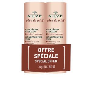 Set cosmétique pour le visage RÊVE DE MIEL STICK LEVRES COFFRET Nuxe