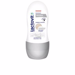 Desodorante LACTOVIT INVISIBLE ANTIMANCHAS desodorante roll-on Lactovit